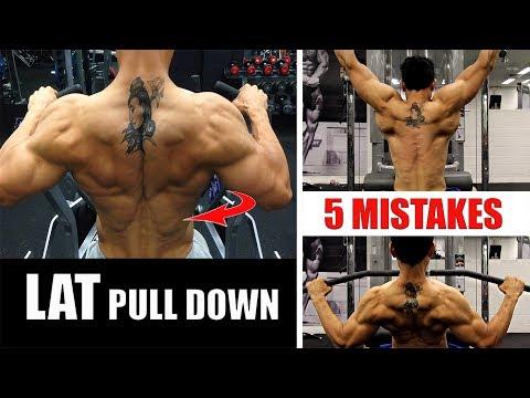LAT PULL DOWN- 5 MISTAKES STOP NOW!! (इन गलतियों को तुरंत रोकें)