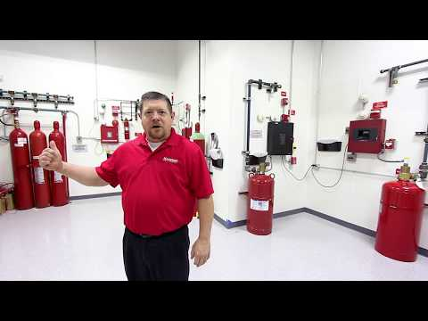 The Different Types of Clean Agent Fire Suppression Systems
