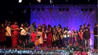 KCS Jingle Bells 2012 - Finale - Radha, Mashalla, Disco Deewane, Gangnam style