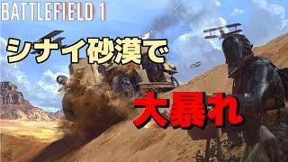【BF1】バトルフィールド1ゆっくり実況  シナイ砂漠で大暴れ!
