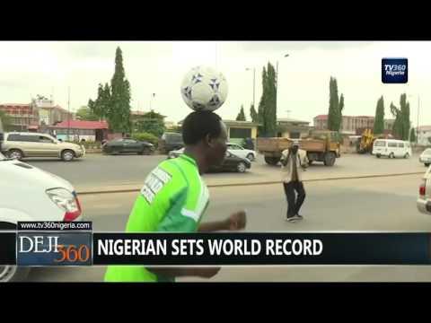 DEJI360 EP 103 Part 3: Nigerian sets world record