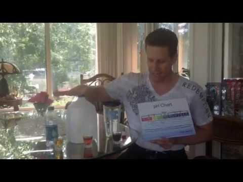 Blood analysis and water video