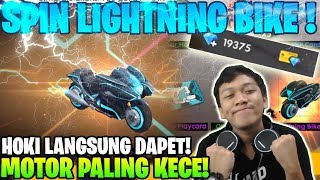 AUTO DAPET! SKIN MOTOR LIGHTNING BIKE SPEED ROYALE - Garena Free Fire