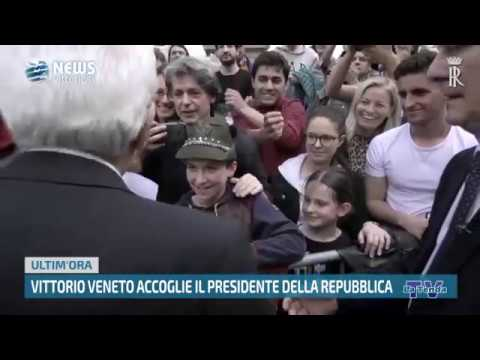 News vittoriesi - Vittorio Veneto accoglie il Presidente della Repubblica