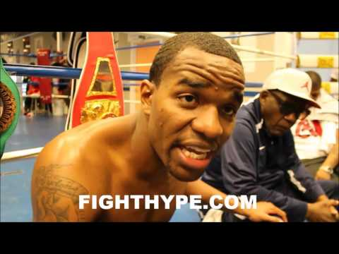 JESSE HART REVEALS THE BEST ADVICE BERNARD HOPKINS HAS GIVEN HIM