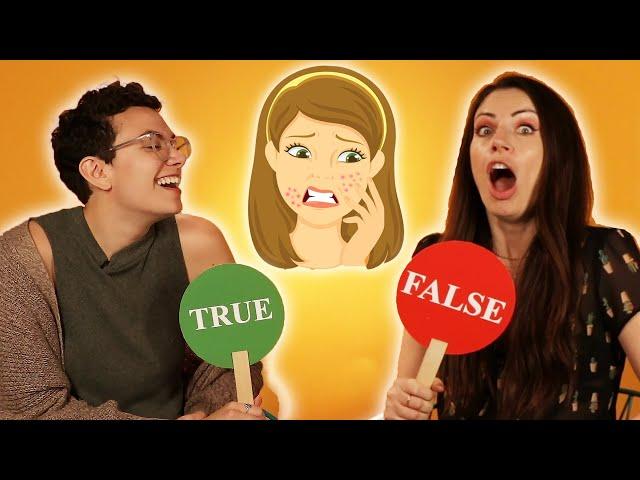 True or False: Skincare Edition