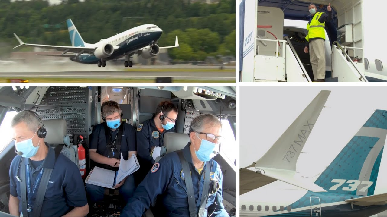 Video from 737 MAX Certification Flights on 6/29/2020 – 7/1/2020