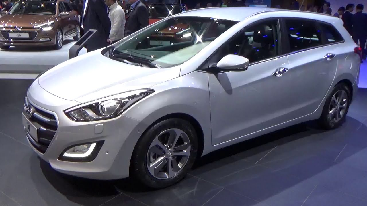 2016 hyundai i30 geneva motor show 2015 youtube. Black Bedroom Furniture Sets. Home Design Ideas