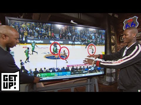 Terry Rozier breaks down film of how he defends Steph Curry with Jay Williams | Get Up | ESPN