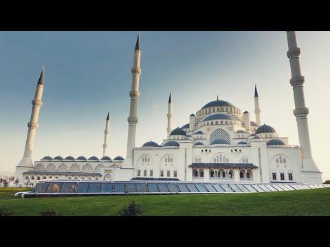 Çamlıca Mosque - Walking Tour | Istanbul 🇹🇷 [4K]