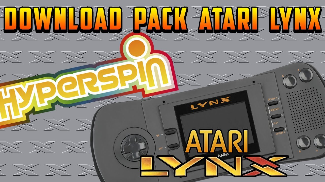 HYPERSPIN / PACK ATARI LYNX COMPLETO / EXCLUSIVE