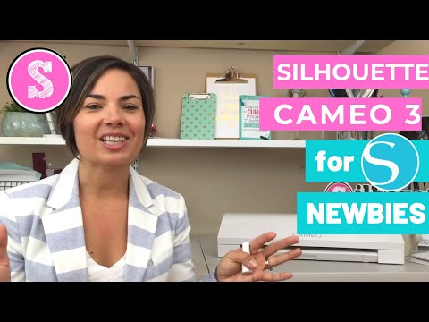 Silhouette Cameo 3 for New Users