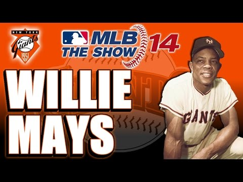 MLB 14 The Show Legends Player Lock Ep.58: Willie Mays