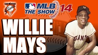 MLB 14 The Show Legends Player Lock: Willie Mays