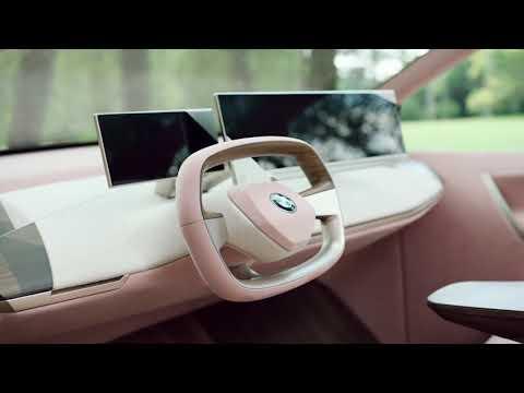 The BMW Vision iNEXT. Interior Design.