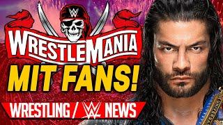 Wrestlemania wieder mit FANS Kontroverse um Lita Wrestling WWE NEWS 8 2021