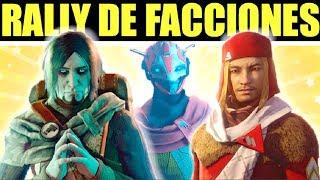 Destiny 2: Rally de Facciones! Nuevas Recompensas! Armas Especiales! | Como Funciona