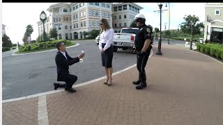 The Best Proposal Ever... you are under arrest
