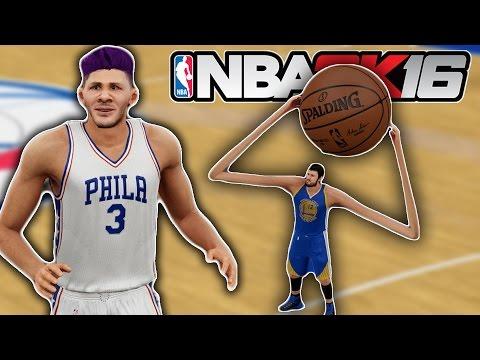 15FT vs 1 FT - Giant Players VS Tiny Players - NBA2K16 Mod Challenge!