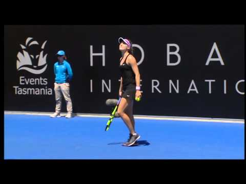 Dominika Cibulkova vs Eugenie Bouchard - Full Match Replay
