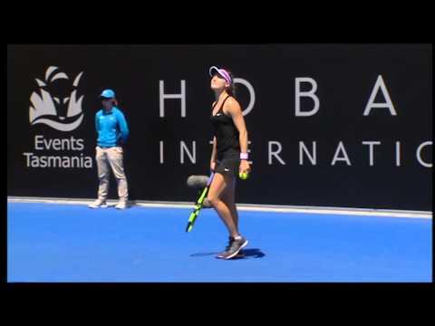 Dominika Cibulkova vs Eugenie Bouchard - Full Match Replay