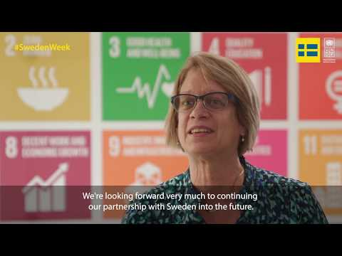 UNDP Asia-Pacific Deputy Director: Our partnership with Sweden is vital for the work we do