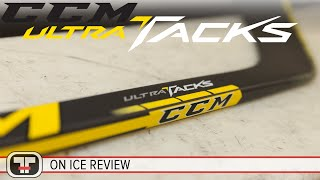 ccm ultra tacks stick on ice review