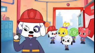Junior e seus amigos Bombeiros ao resgate