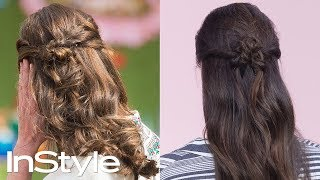 Master Kate Middleton's Timeless Half-Up Hairstyle | Beauty School | InStyle