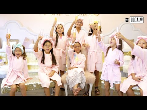 Posh Princess Spa: The Perfect Kids Birthday Party Experience  | Secretly Awesome