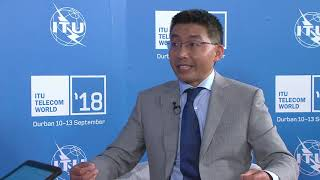 ITU Telecom World 2018 David Wen
