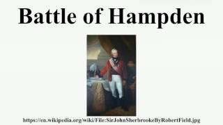 Battle of Hampden