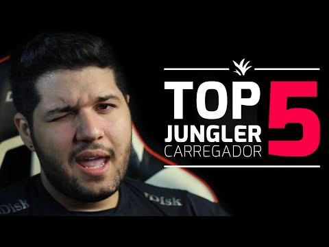 Top 5 - Jungler Carregador com SirT (Patch 6.9)