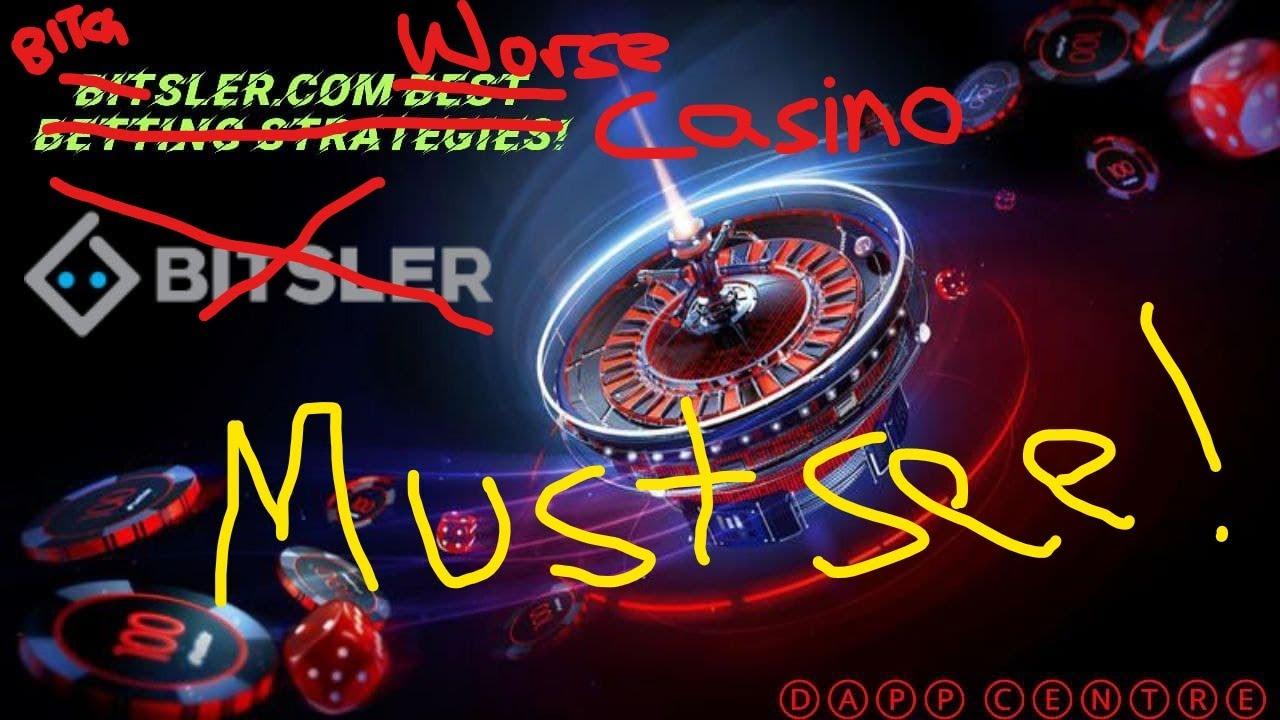 BITSLER! WORST CASINO EVER!! *MUST SEE*
