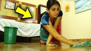 Hindistan'da Evlere <b>Temizliğe</b> Giden Bekar Kadının Başına Bakın ...