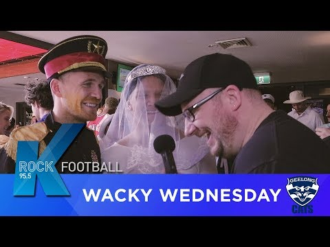 Geelong Cats Wacky Wednesday | Krock Football