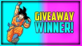GIVEAWAY PART 1 WINNER! | Dragon Ball Z Dokkan Battle #Pickles Giveaway Winner!