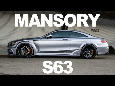 MANSORY STEALTHY S63 REVVING, HOW TO PAINT A NAKED G WAGON, A CRAZY 2 FACE WRAPPED E63S AMG.
