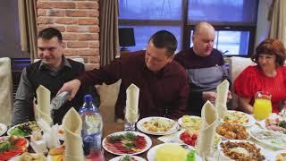 ЮБИЛЕЙ Сергея ресторан Анкор 3.02.2018