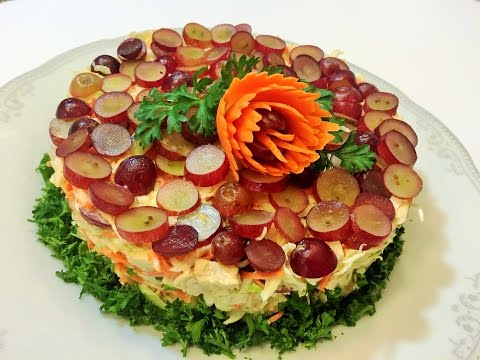 Вкусные праздничные салаты с фото/