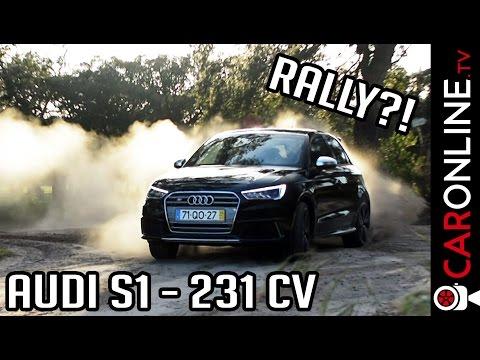 DESAFIO Audi S1 QUATTRO em RALLY! [Review Portugal]