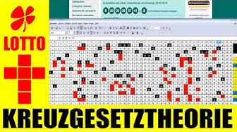 Lotto Österreich !!! Kreuzgesetz Theorie