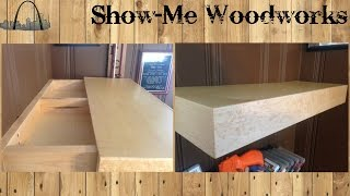 Hidden Compartment Wall Shelf