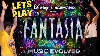 Lets Play: Disney Fantasia Music Evolved w/ Mom & Dad (XBOX ONE)