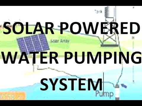 Solar powered water pumping system simulink