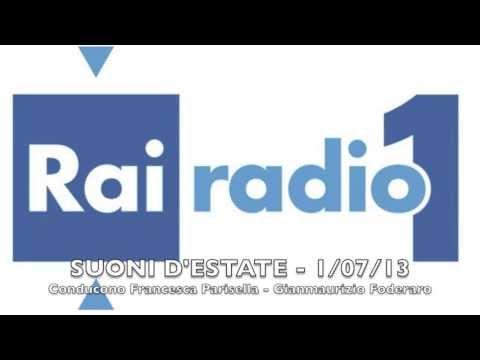 Intervista di Gianmaurizio Foderaro - Radio 1 Rai