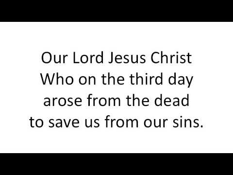 Our Lord Jesus Christ (Resurrection)