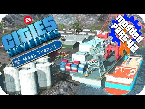 Cities Skylines Gameplay: MOUNTAIN CARGO...