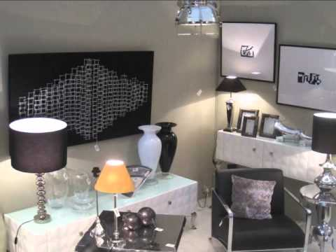 Muebles y art culos de decoraci n modernos feria intergift madrid 2011 gajisa youtube - Articulos decoracion ...