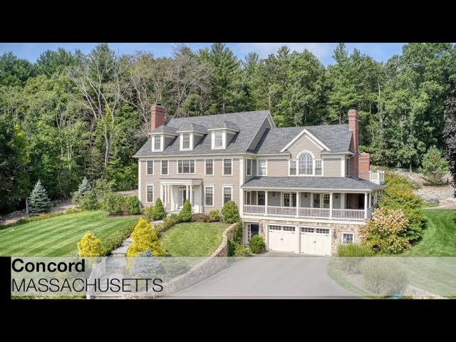 Video Of 394 Pope Road Concord Massachusetts Real Estate Homes By The Senkler Team Youtube